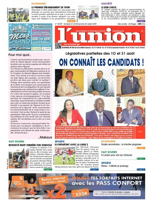 L'Union 27/07/2019