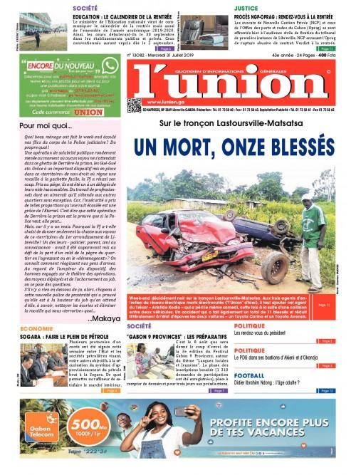 L'Union 31/07/2019