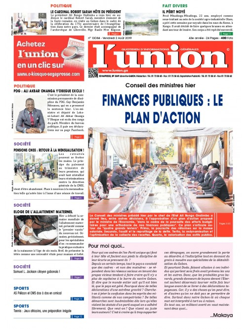 L'Union 02/08/2019