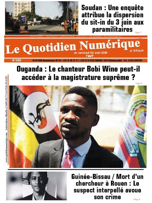QUOTIDIEN NUMERIQUE D AFRIQUE  02/08/2019