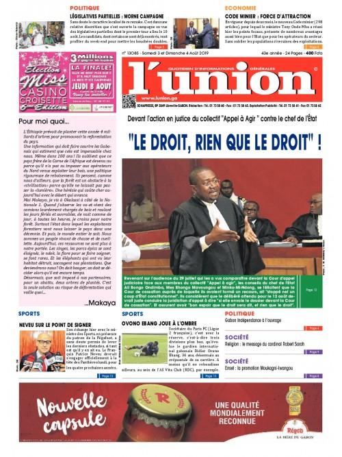 L'Union 03/08/2019
