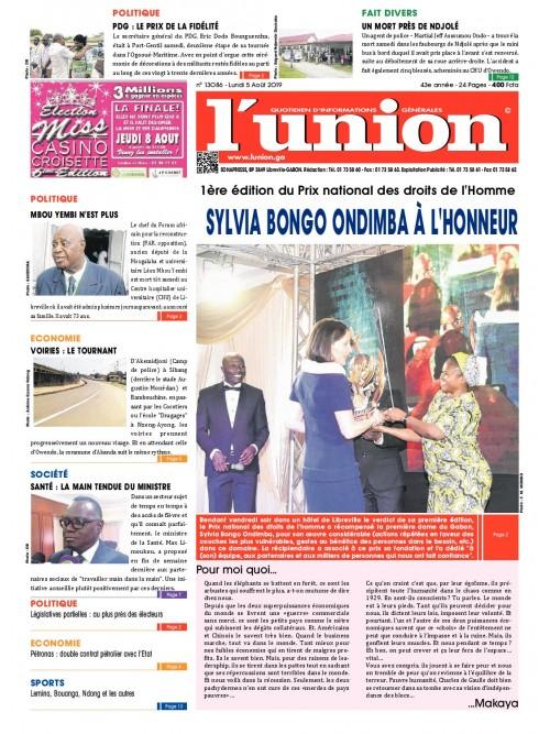 L'Union 05/08/2019