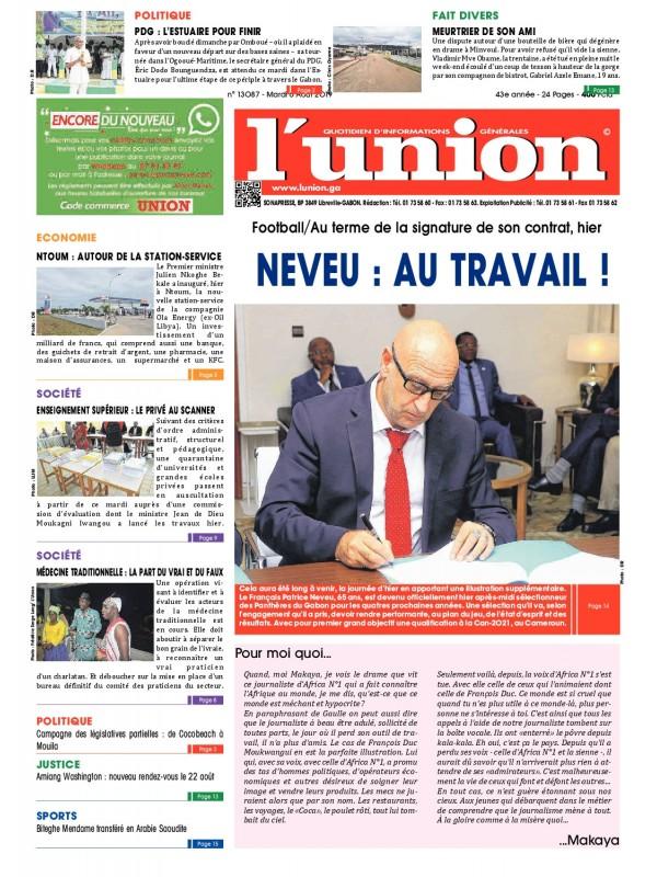 L'Union 06/08/2019