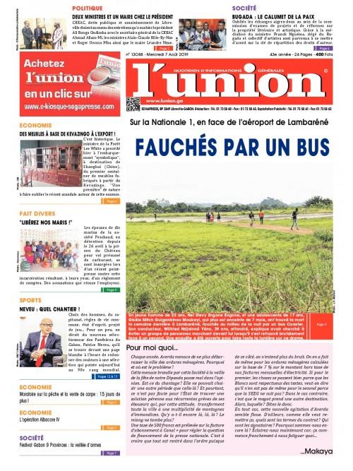 L'Union 07/08/2019