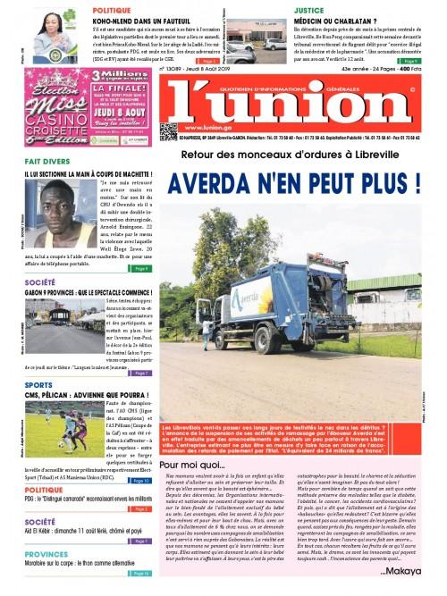 L'Union 08/08/2019