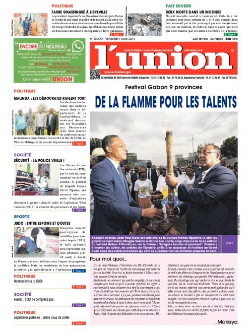 L'Union 09/08/2019