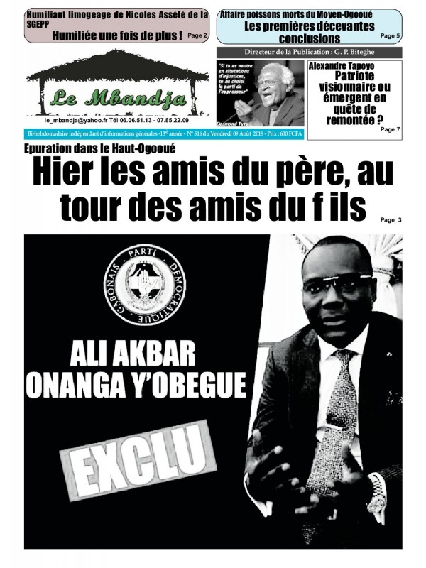 Le Mbandja 09/08/2019