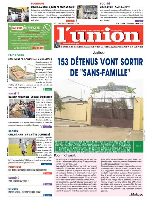 L'Union 12/08/2019
