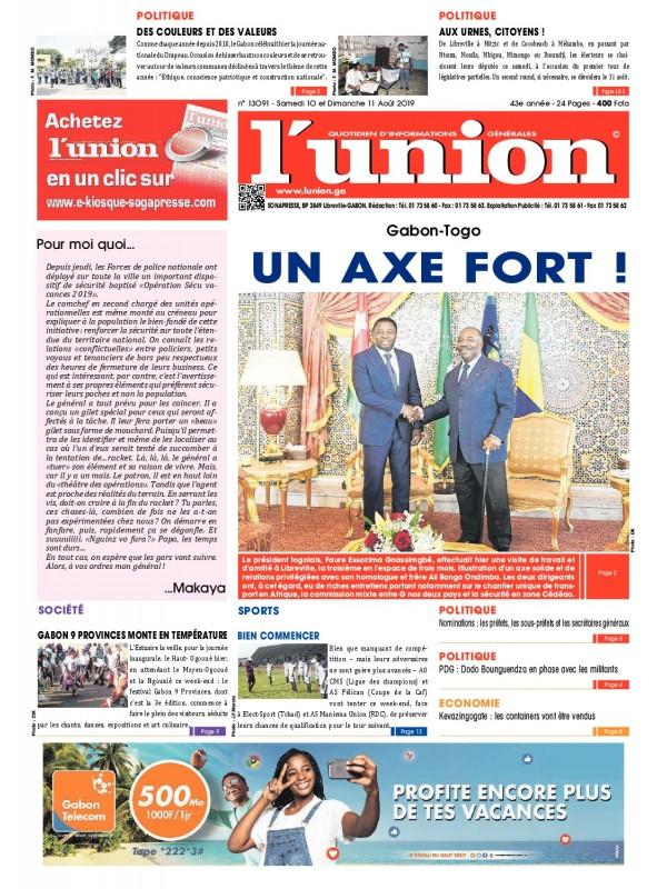 L'Union 10/08/2019