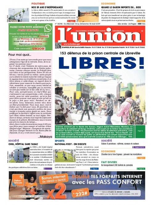 L'Union 14/08/2019