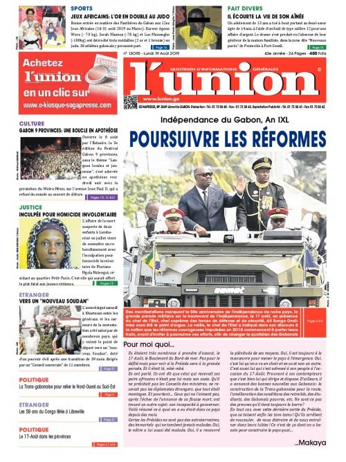 L'Union 19/08/2019