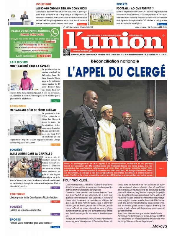 L'Union 20/08/2019