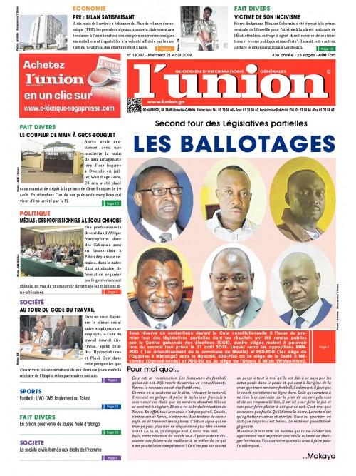 L'Union 21/08/2019