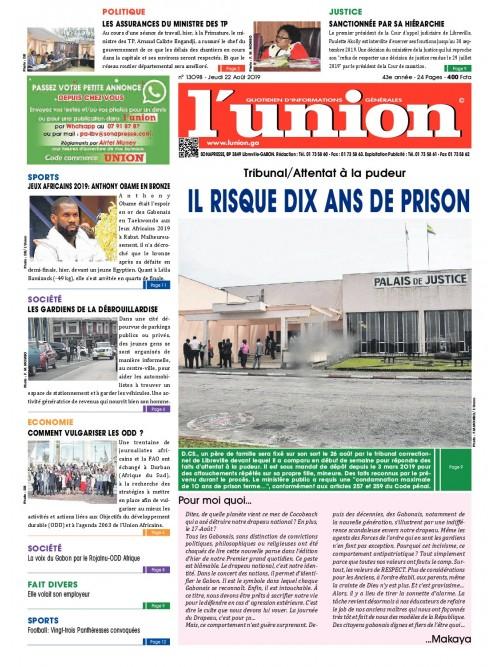 L'Union 22/08/2019