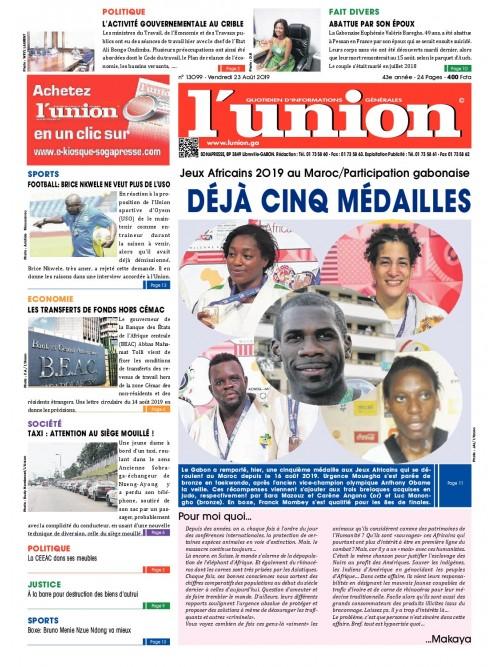 L'Union 23/08/2019