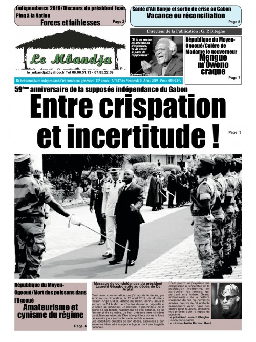 Le Mbandja 23/08/2019