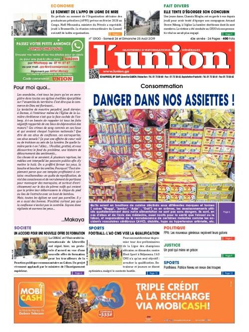 L'Union 24/08/2019