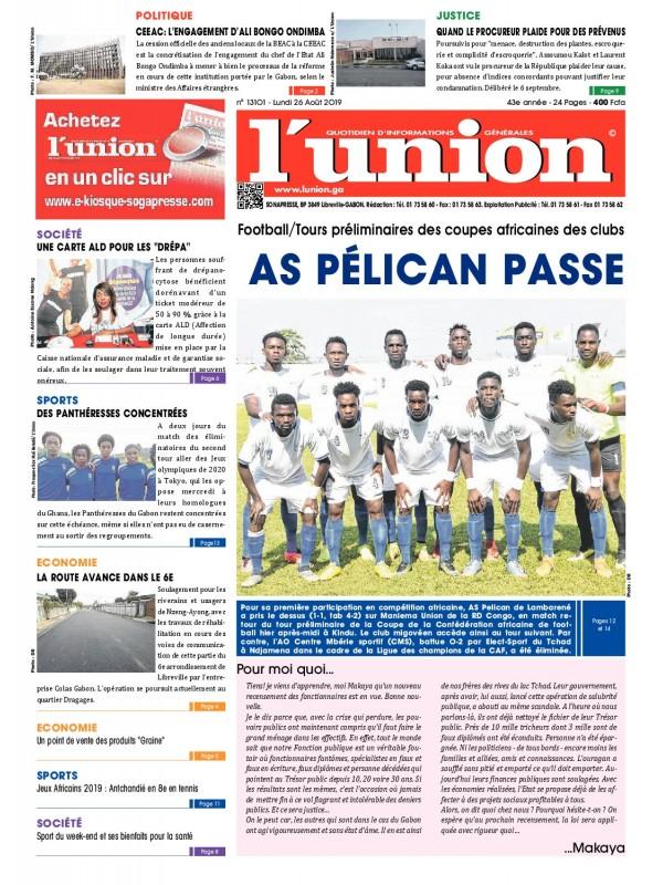 L'Union 26/08/2019