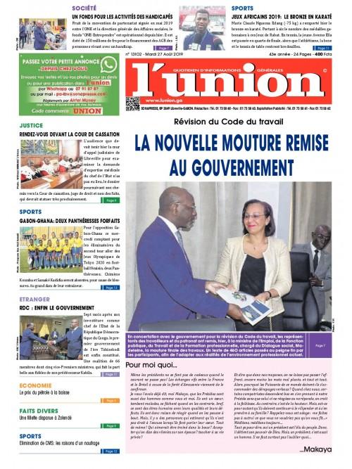 L'Union 27/08/2019