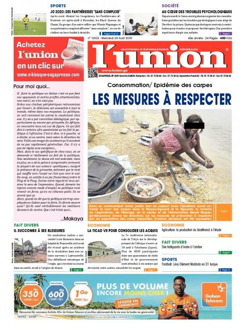L'Union 28/08/2019