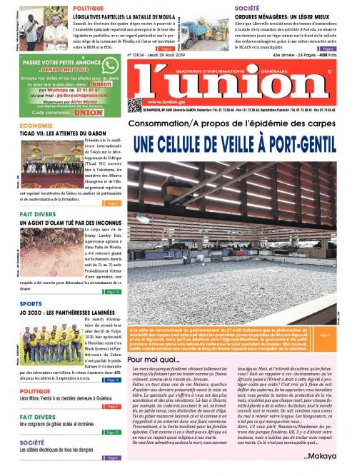 L'Union 29/08/2019