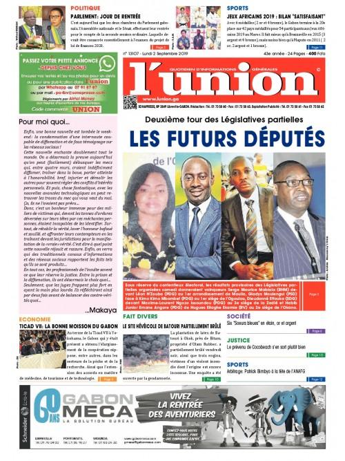 L'Union 02/09/2019