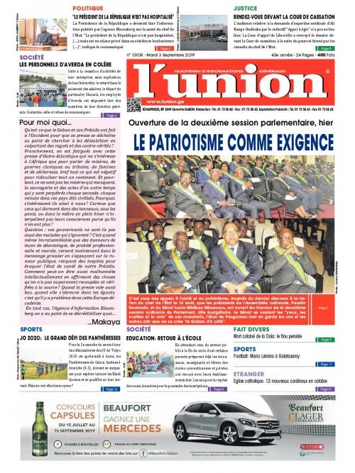 L'Union 03/09/2019