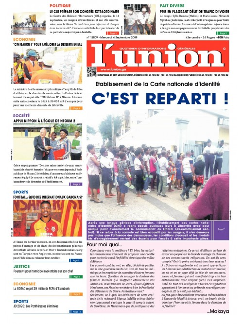 L'Union 04/09/2019