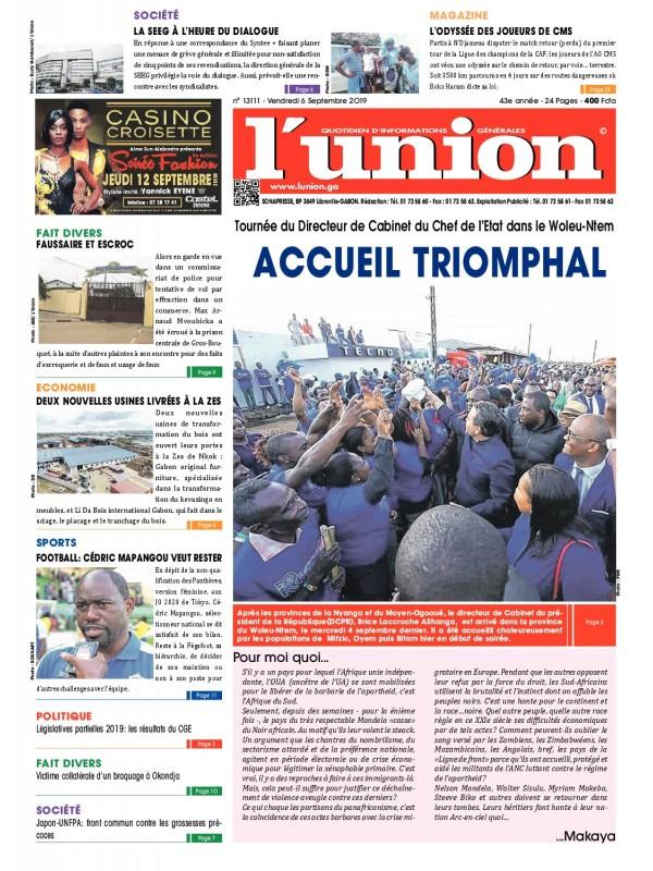 L'Union 06/09/2019