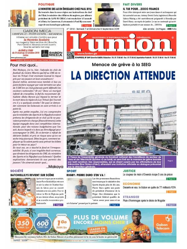 L'Union 07/09/2019