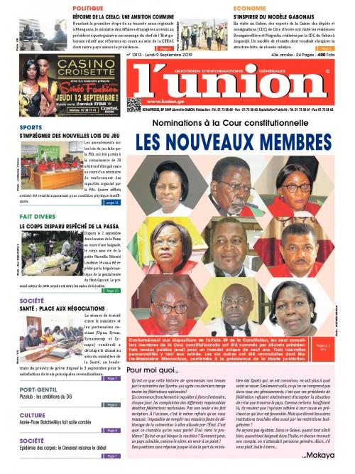 L'Union 09/09/2019