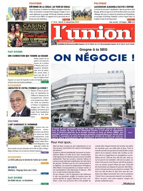 L'Union 10/09/2019