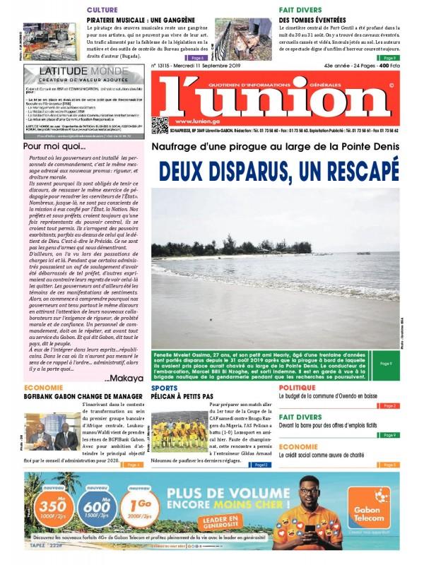 L'Union 11/09/2019