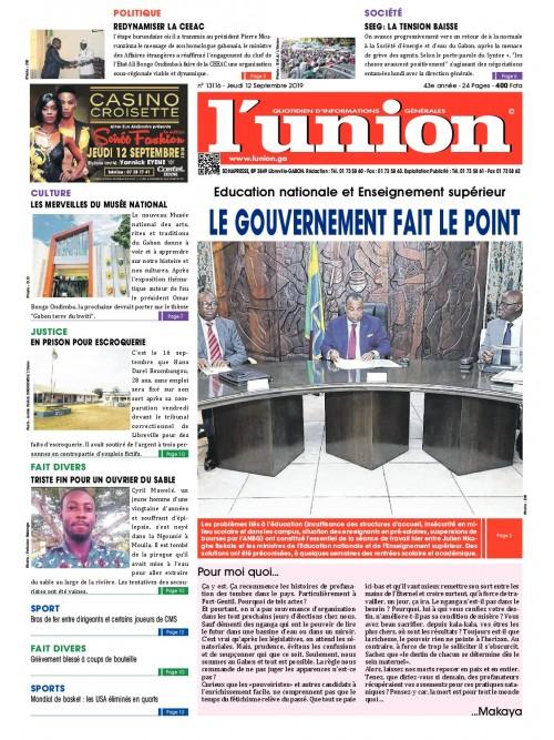 L'Union 12/09/2019