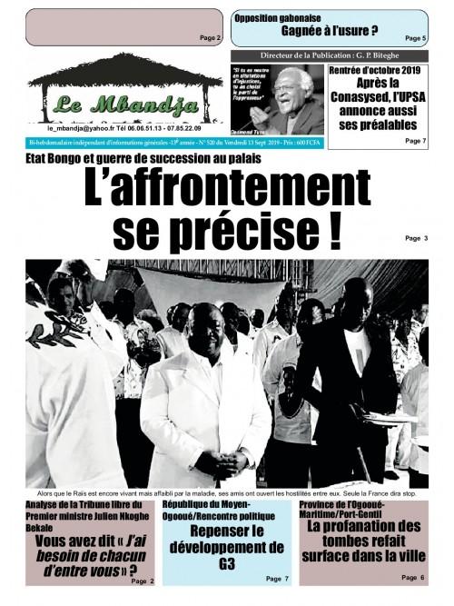 Le Mbandja 13/09/2019