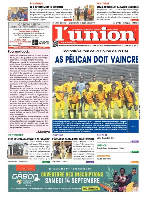 L'Union 14/09/2019