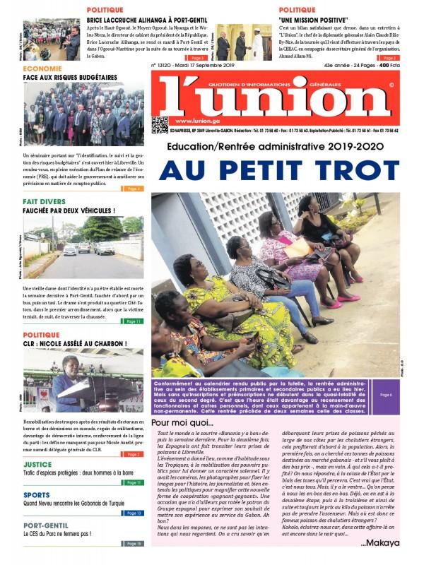L'Union 17/09/2019