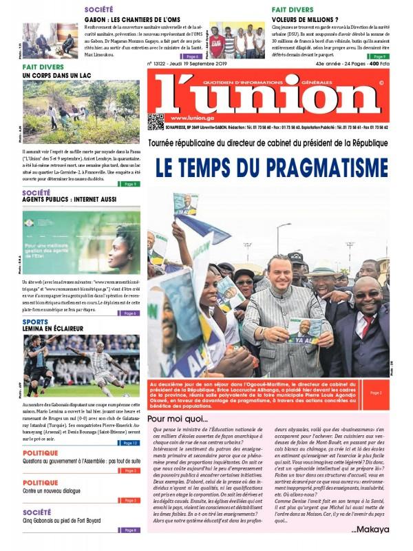 L'Union 19/09/2019