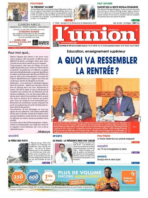 L'Union 21/09/2019