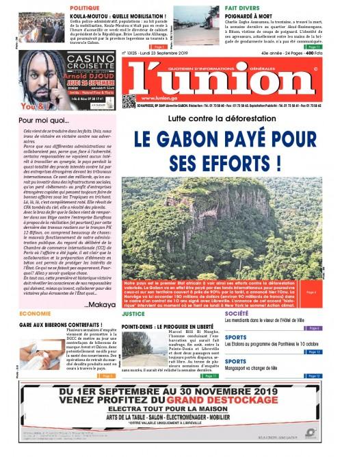 L'Union 23/09/2019