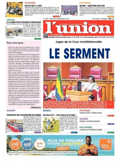 L'Union 25/09/2019