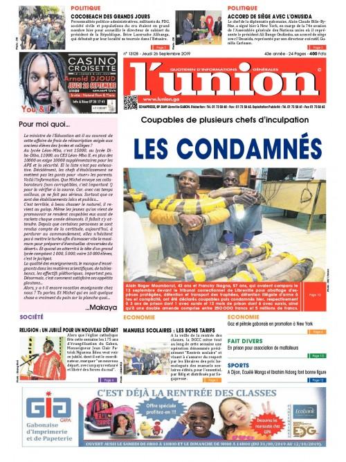 L'Union 26/09/2019