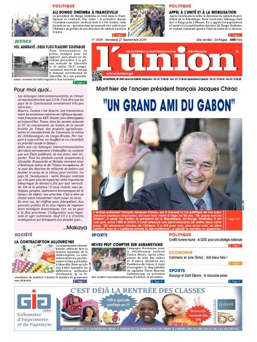 L'Union 27/09/2019