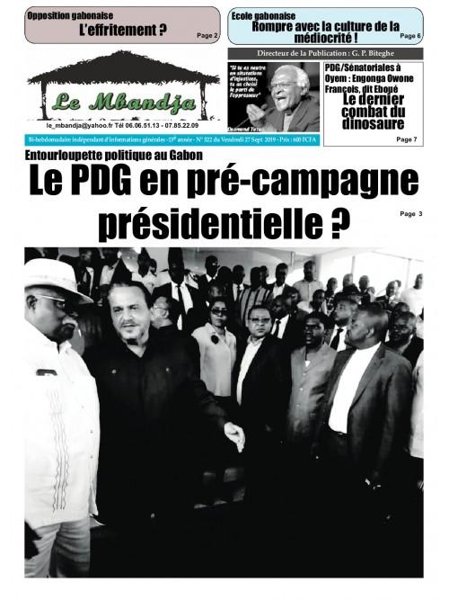 Le Mbandja 27/09/2019