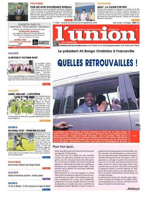 L'Union 28/09/2019