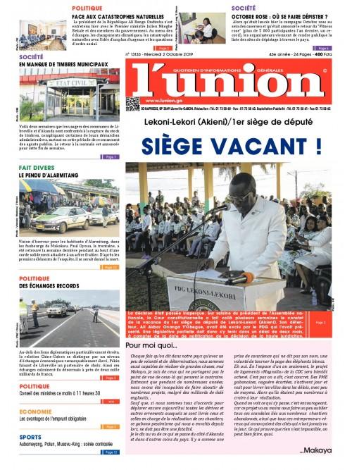 L'Union 02/10/2019