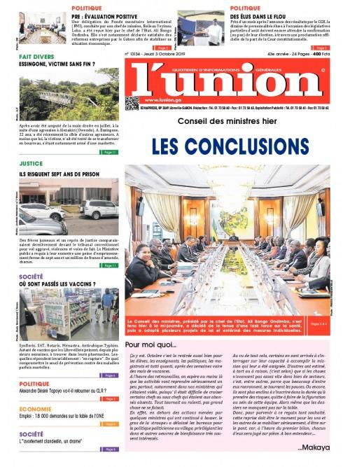 L'Union 03/10/2019