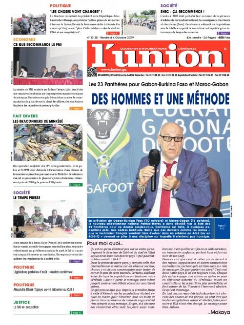 L'Union 04/10/2019