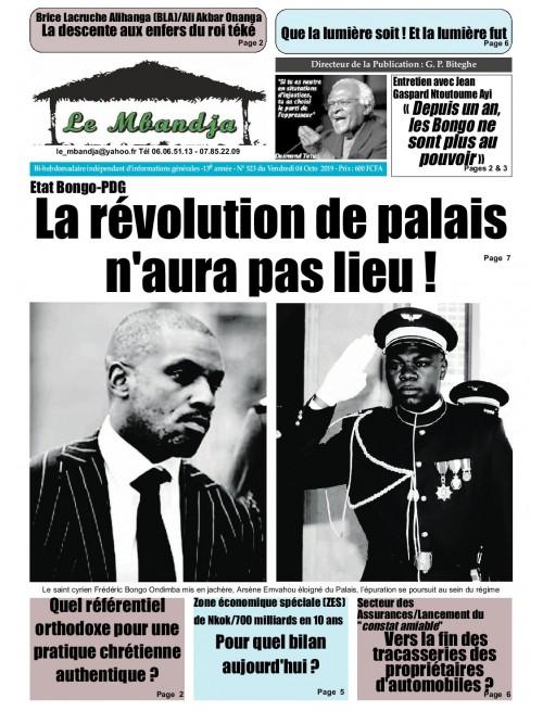 Le Mbandja 04/10/2019