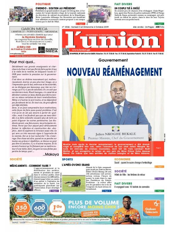 L'Union 05/10/2019